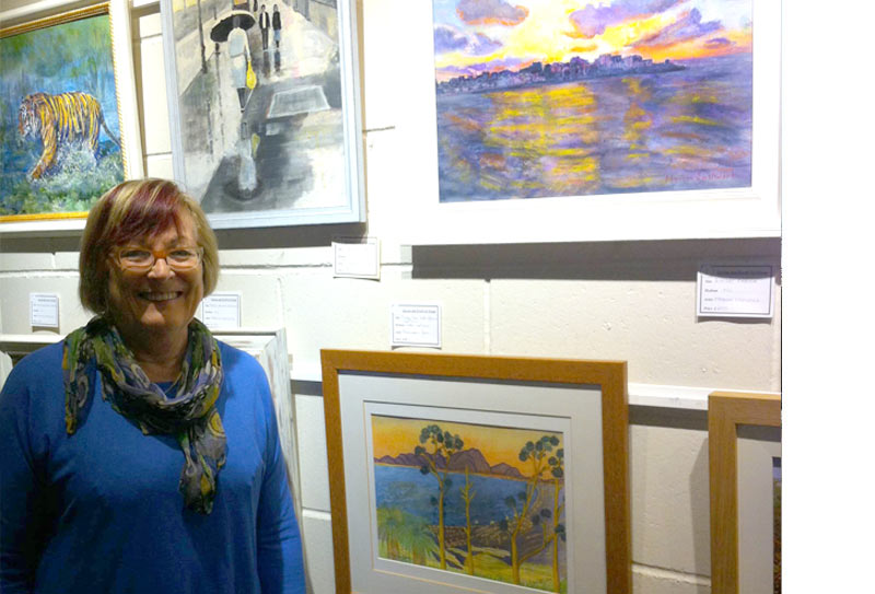 Local artist Maureen Jones