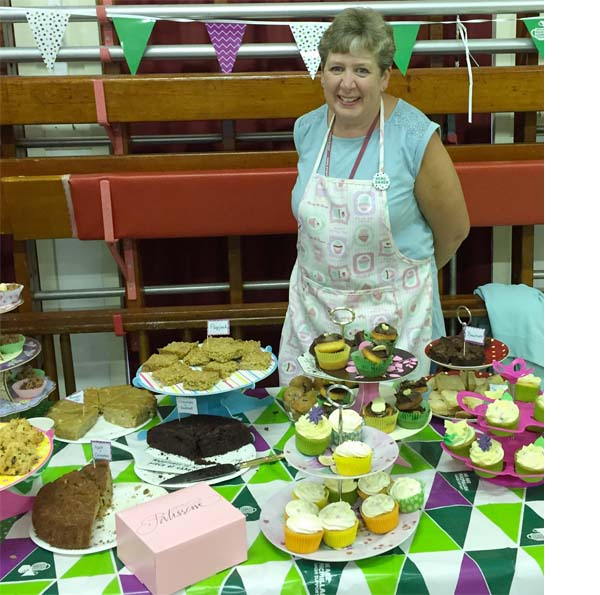 Cuddington Cake Sale at Cuddington Community school