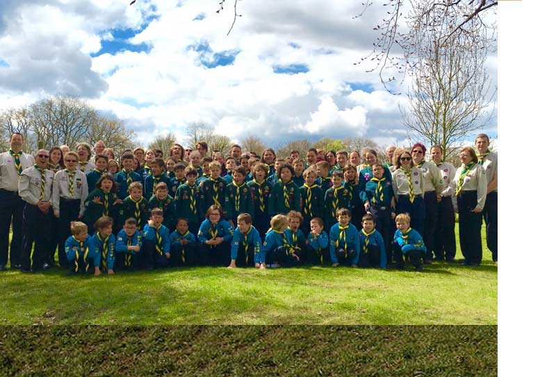 Second Cuddington Scouts Worcester Park