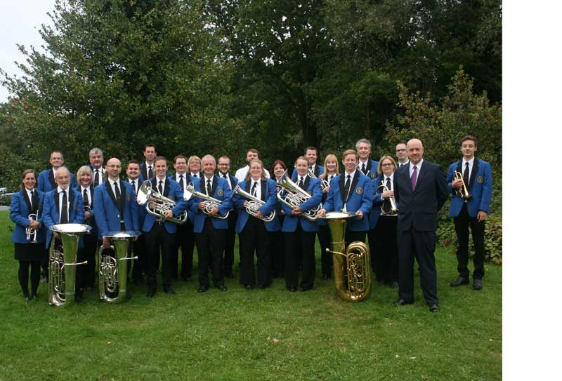 The award winning Epsom and Ewell Silver Band
